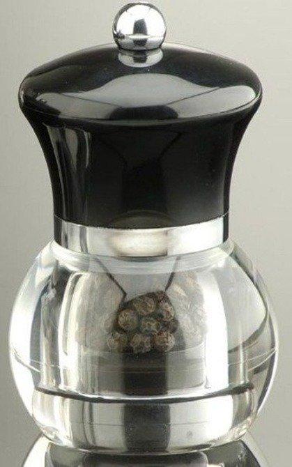 Młynek do pieprzu DMD Orbit 12cm czarny (wypełniony)