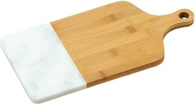 Deska Kesper bambusowo marmurowa 36x18,5cm