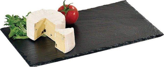 Deska łupkowa czarna 30x20cm Kesper