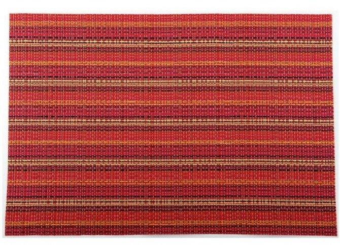 Duża mata kuchenna Granchio 36 x 48 cm czerwona