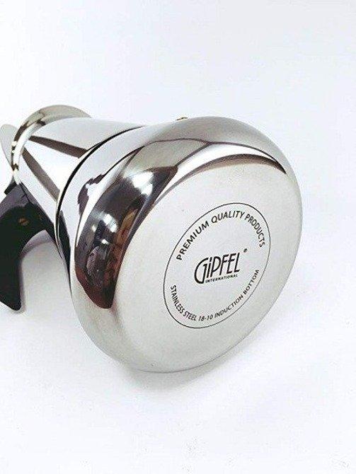 Gipfel Zaparzacz Moka espresso Iris 4 filiżanki (200ml) indukcja