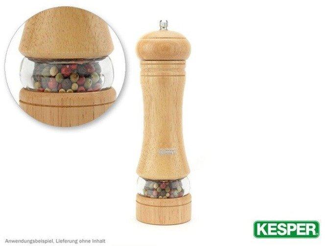 Młynek do pieprzu i soli kauczuk 22cm Kesper (koniec produkcji)