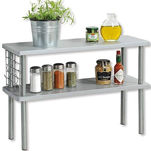Półka kuchenna na blat szara Kesper 55x20x38cm