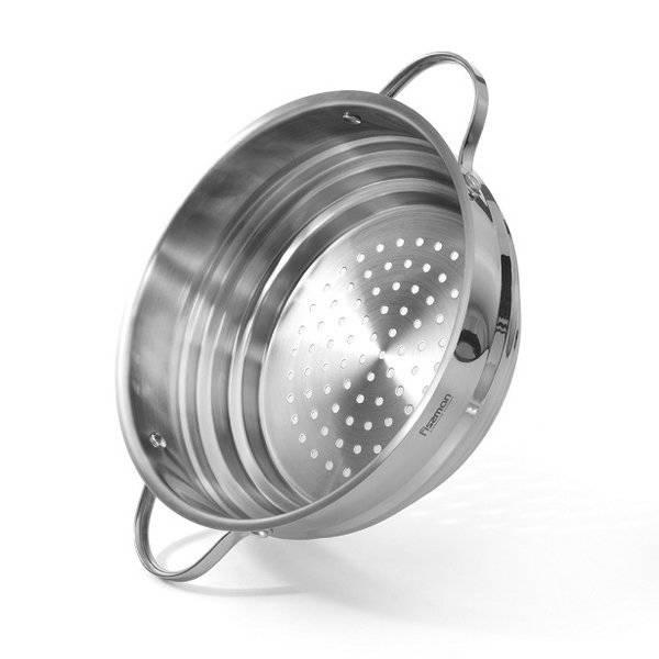 Wkładka do gotowania na parze uniwersalna Fissman 20-22-24cm